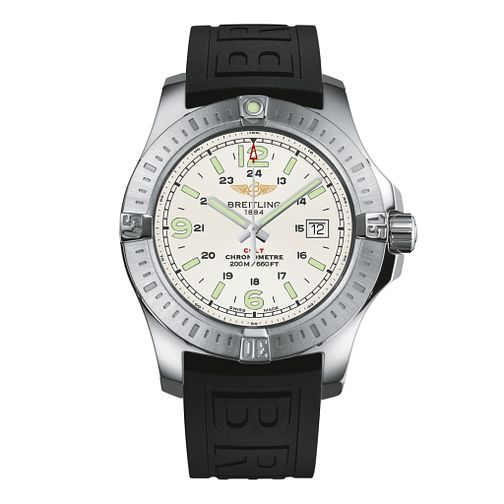 Breitling Colt Superquartz men's black rubber strap watch - Product number 2190494