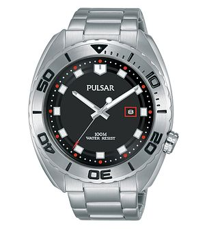 Pulsar Men's Stainless Steel Bracelet Watch - Product number 2209535
