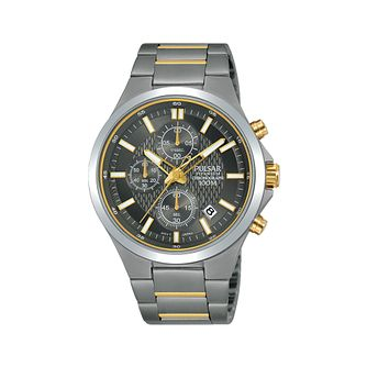 Pulsar Men's Chronograph Two-Tone Titanium Bracelet Watch - Product number 2209594