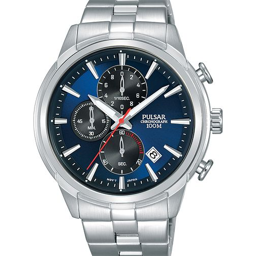 Pulsar Men's Chronograph Stainless Steel Bracelet Watch - Product number 2209608