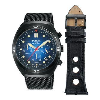 Pulsar Men's Interchangeable Strap Watch Gift Set - Product number 2209691