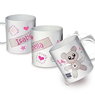 Cotton Zoo Tweed the Bear Girls Plastic Cup - Product number 2210290