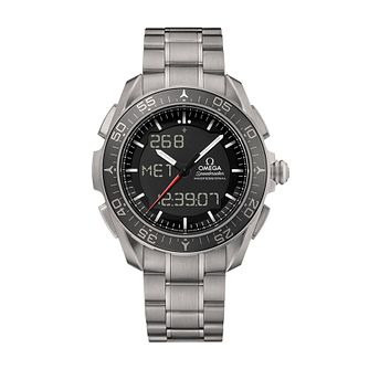 Omega Speedmaster Skywalker men's titanium bracelet watch - Product number 2214873