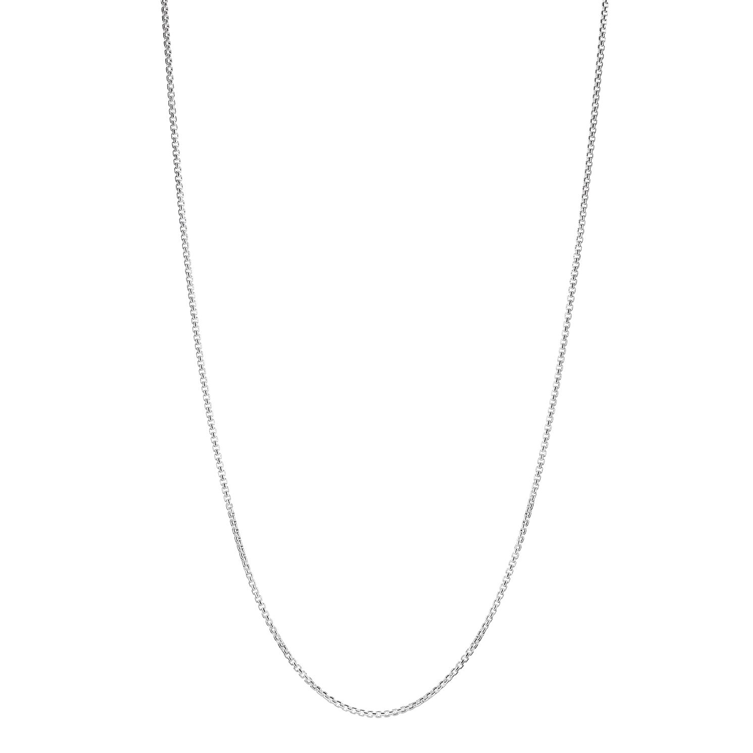 Chamilia Petite Silver Box Chain Necklace - Product number 2217937