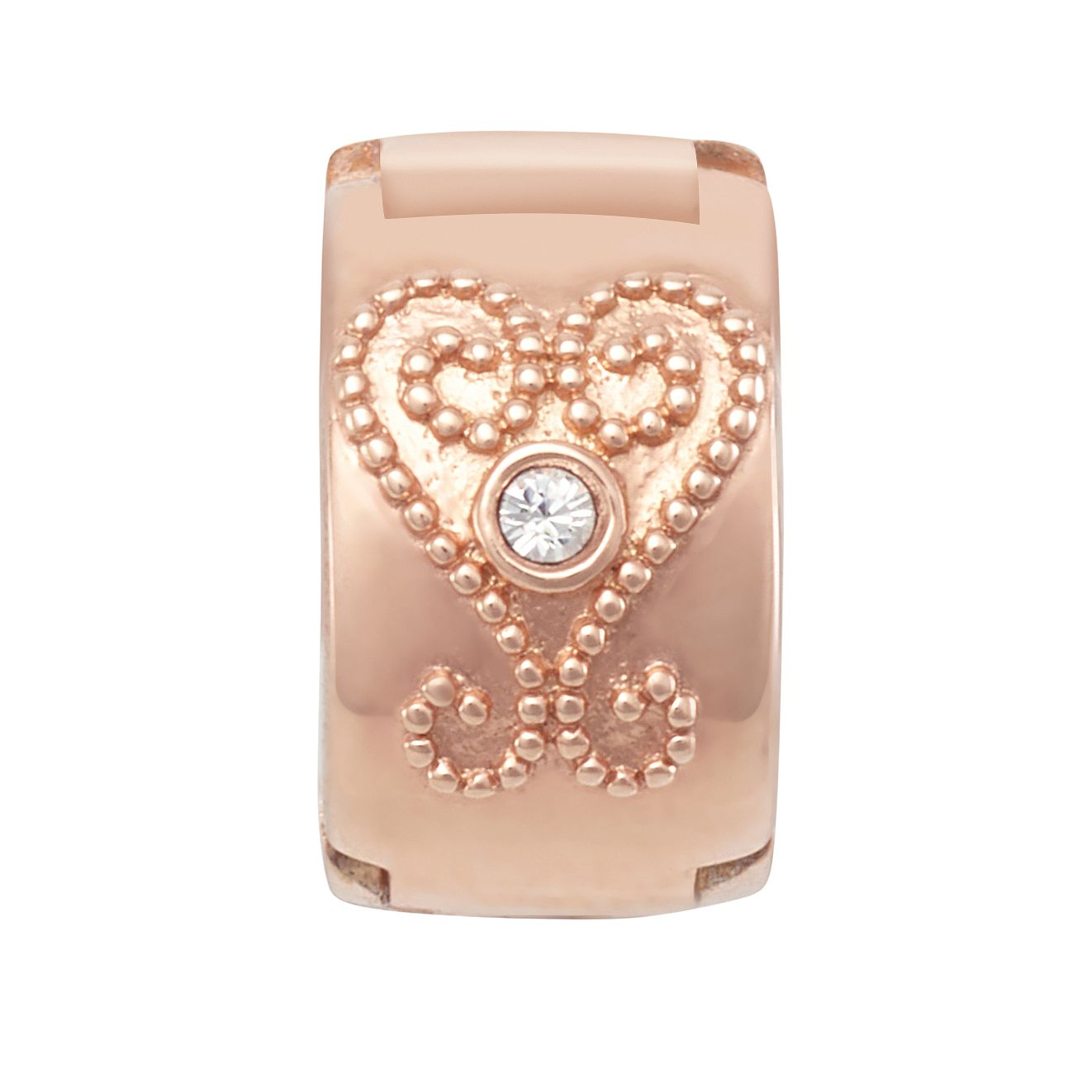 Chamilia Blush Heart Lock Charm - Product number 2217961