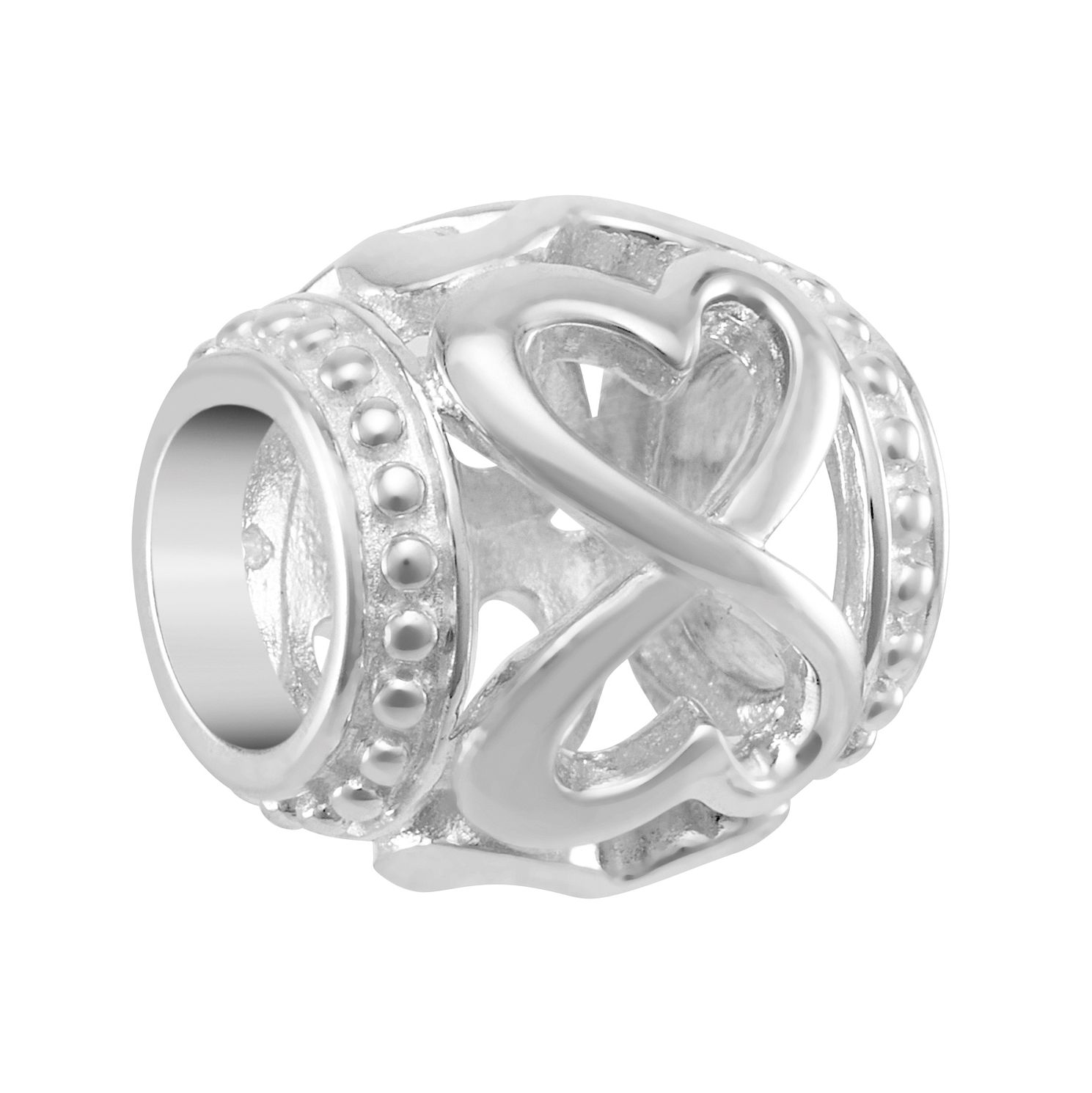 Chamilia Endless Heart Spacer Charm - Product number 2218046