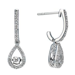 Diamonds In Rhythm Silver 0.15ct Total Diamond Pendant - Product number 1526200