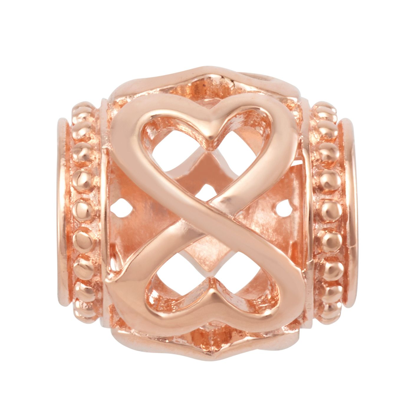 Chamilia Blush Infinity Heart Spacer Charm - Product number 2218283