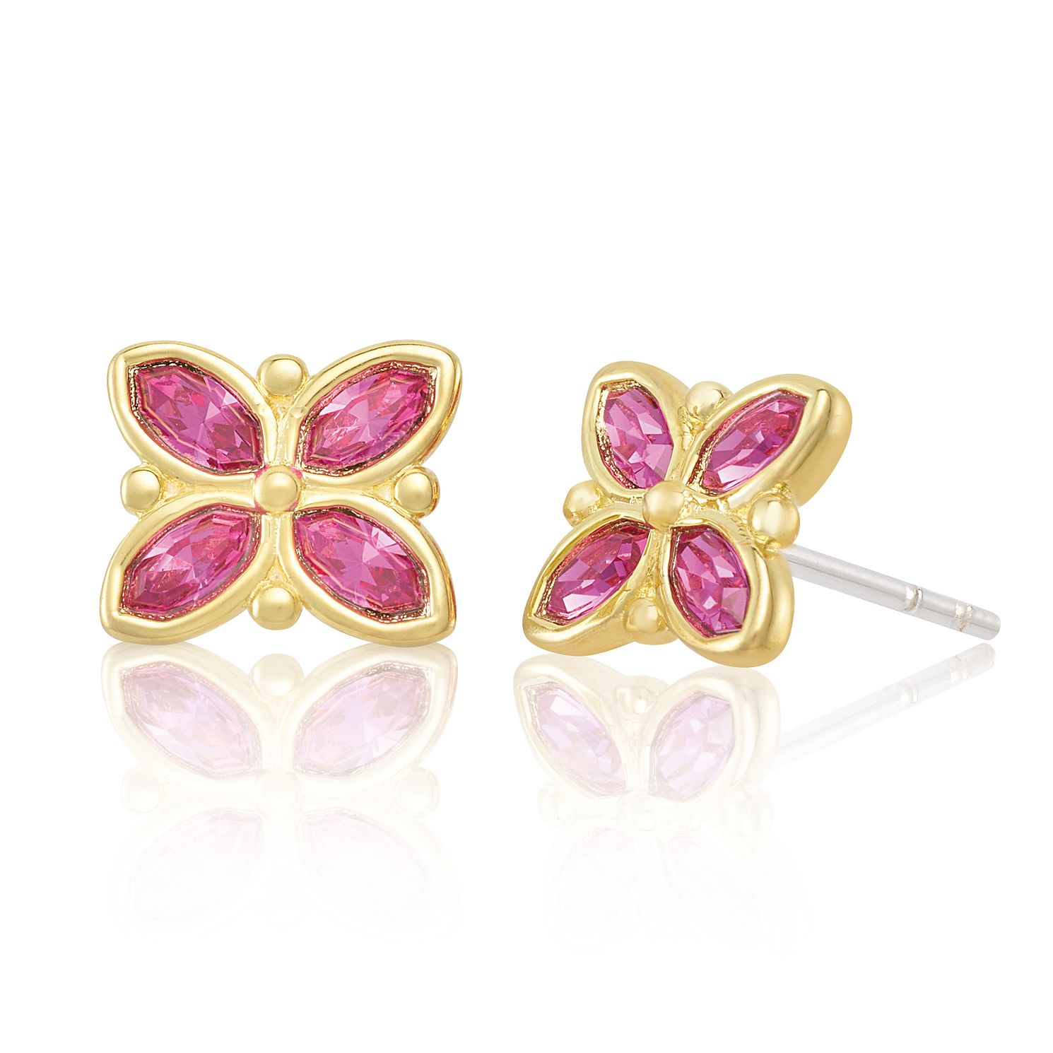 Chamilia Stained Glass Stud Earrings - Product number 2218615