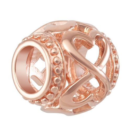 CHAMILIA Blush Infinity Heart Spacer Charm - Product number 2218887