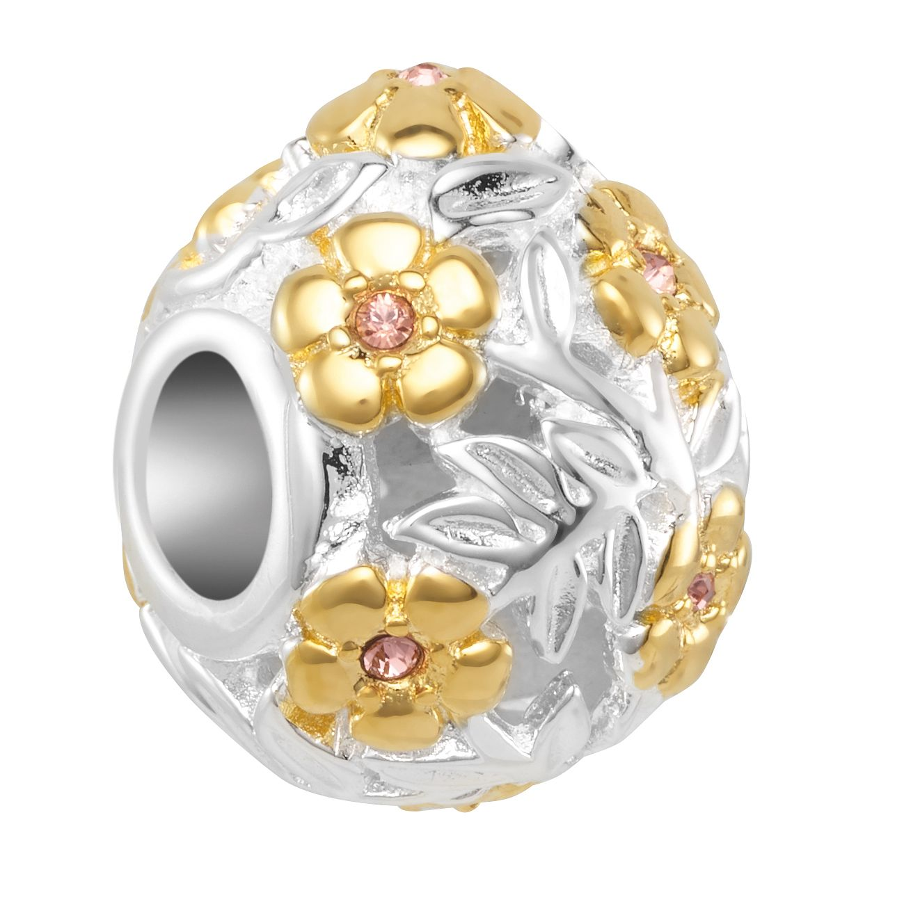 Chamilia Filigree Easter Egg Charm with Swarovski Crystal - Product number 2218933