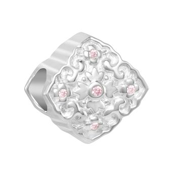 Chamilia Blossom Medallion Charm with Swarovski Zirconia - Product number 2219123