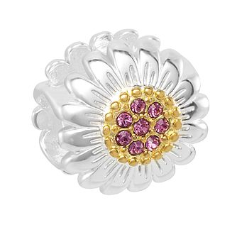Chamilia Daisy Silhouette Charm with Swarovski Crystal - Product number 2219166
