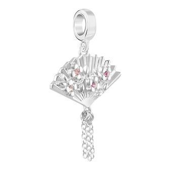 Chamilia Blossom Fan Charm With Multi Swarovski Crystal - Product number 2219174