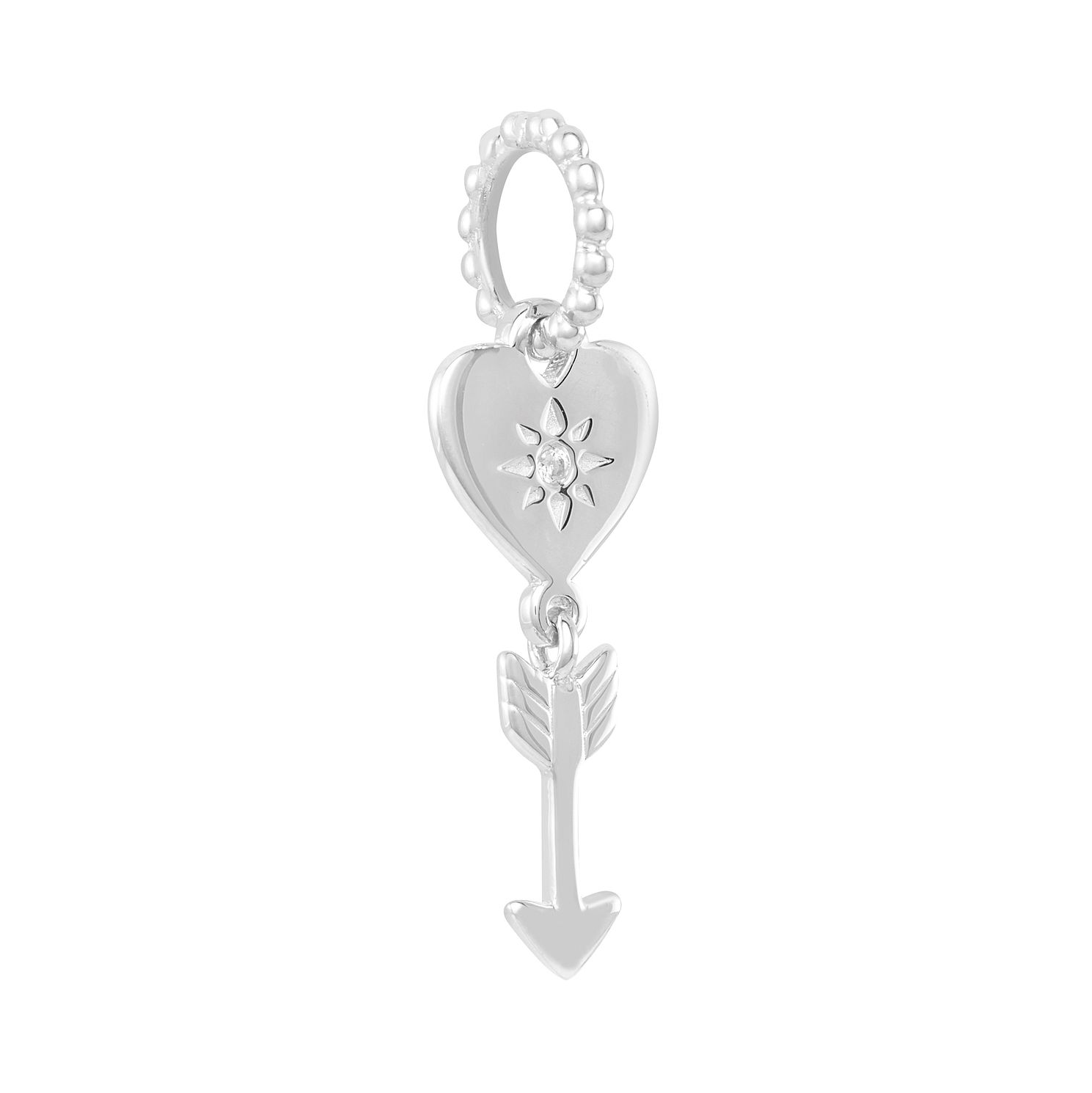 Chamilia Petite Heart and Arrows Charm - Product number 2219395