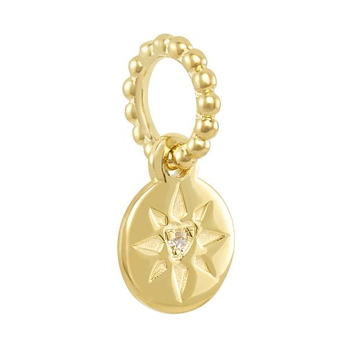 Chamilia Petite Beaming Heart Charm with Swarovski Zirconia - Product number 2219409