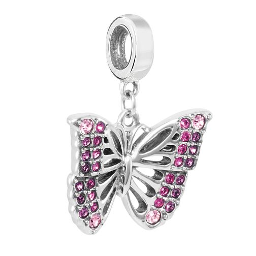 Chamilia Rainforest Butterfly Charm with Swarovski Crystal - Product number 2219417
