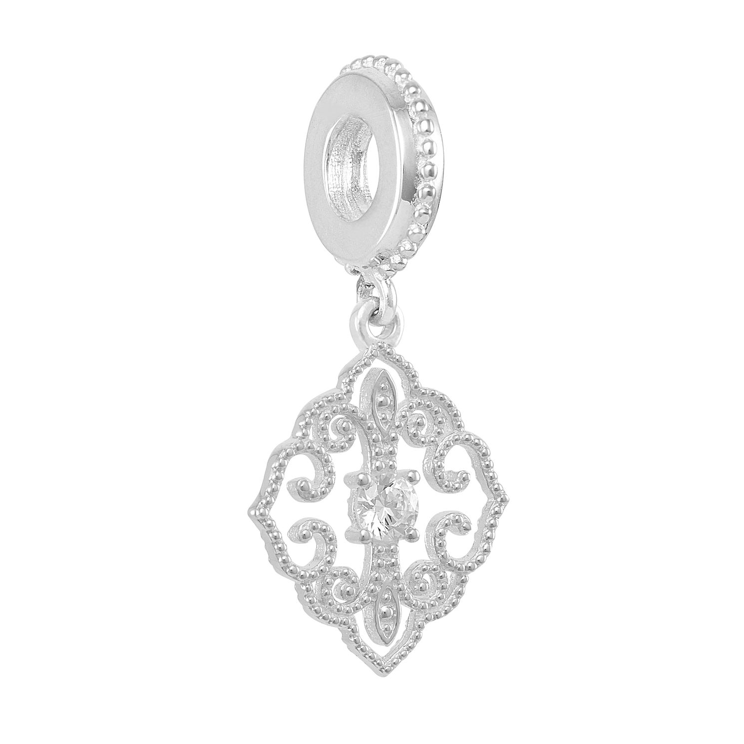 Chamilia Timeless Ornament Charm with Swarovski Zirconia - Product number 2219468