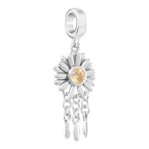 Chamilia Wishing Flower Charm with Amber Swarovski Zirconia - Product number 2219654