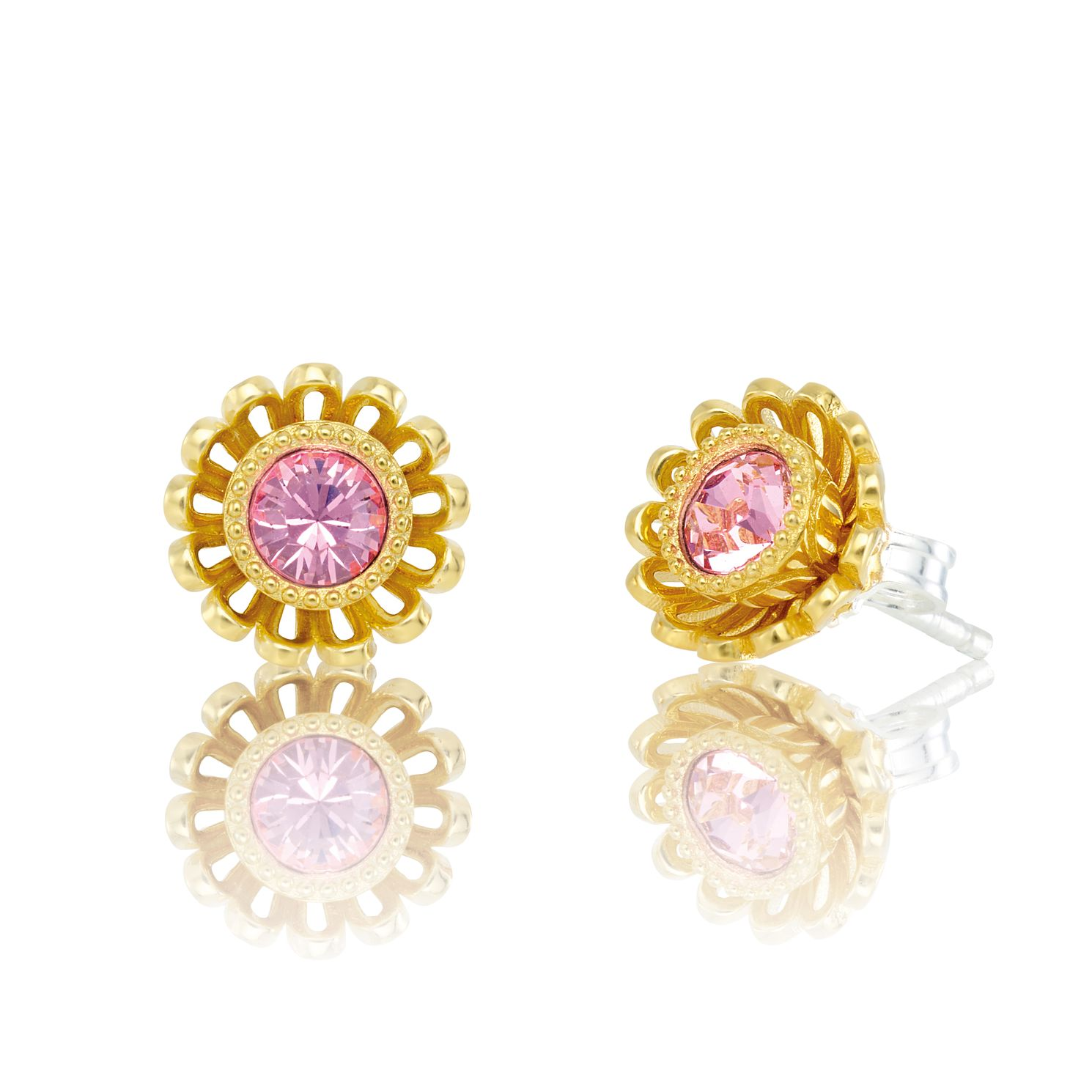 Chamilia Daisy Post Stud Earrings with Crystal - Product number 2221616
