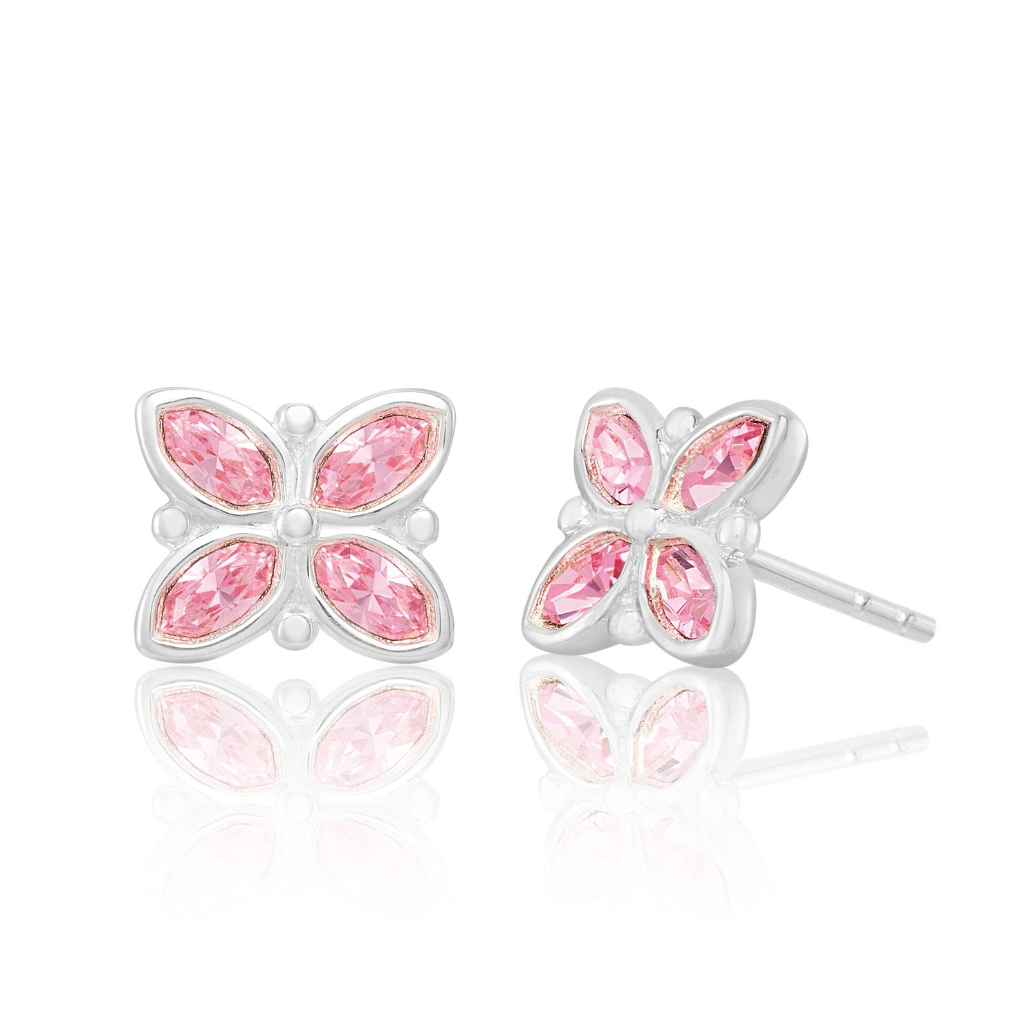 Chamilia Stained Glass Stud Earrings with Swarovski Crystal - Product number 2221640