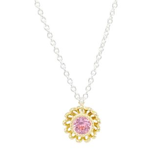Chamilia Daisy Jacket Necklace with Rose Swarovski Crystal - Product number 2221861