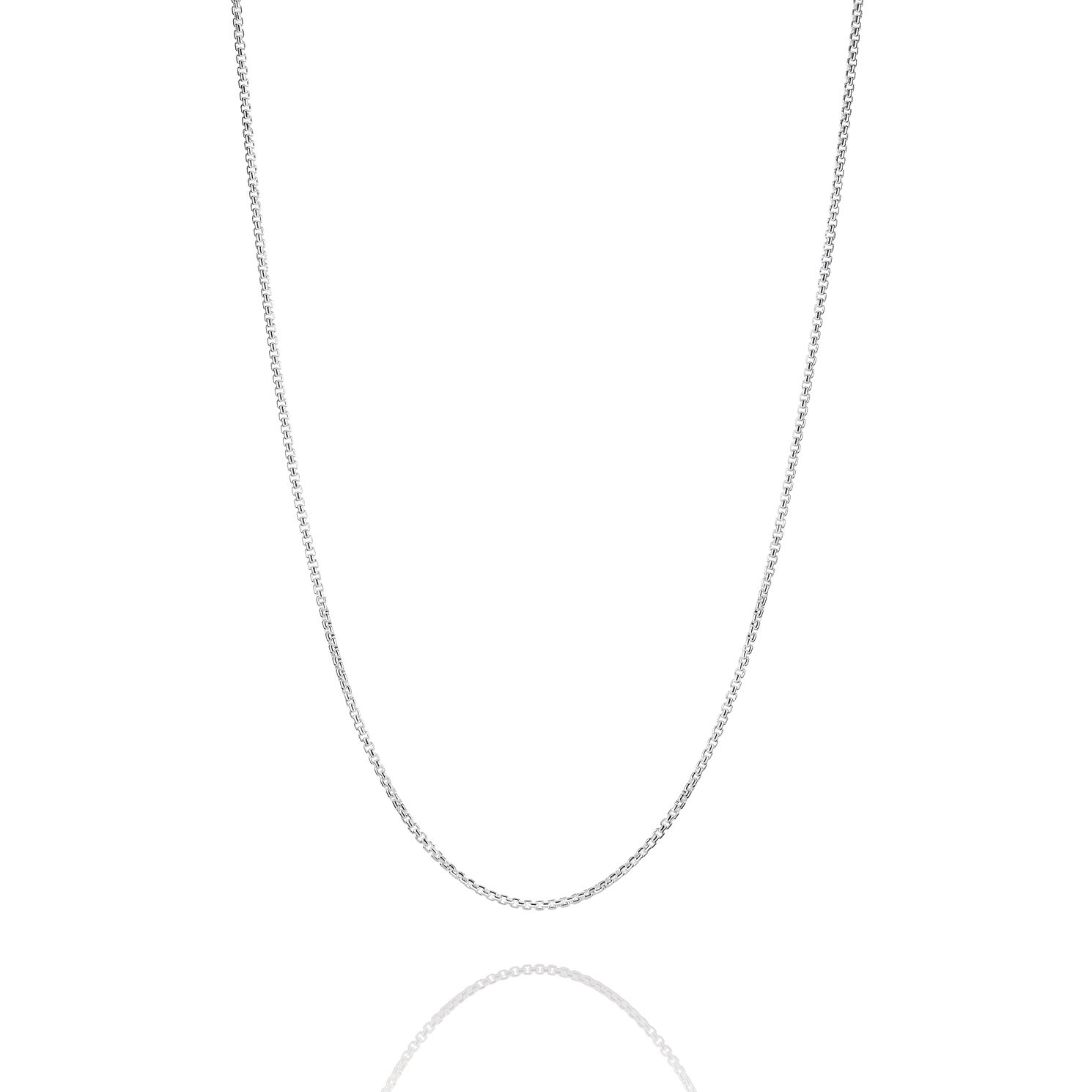 Chamilia Petite Silver Box Chain Necklace - Product number 2221888