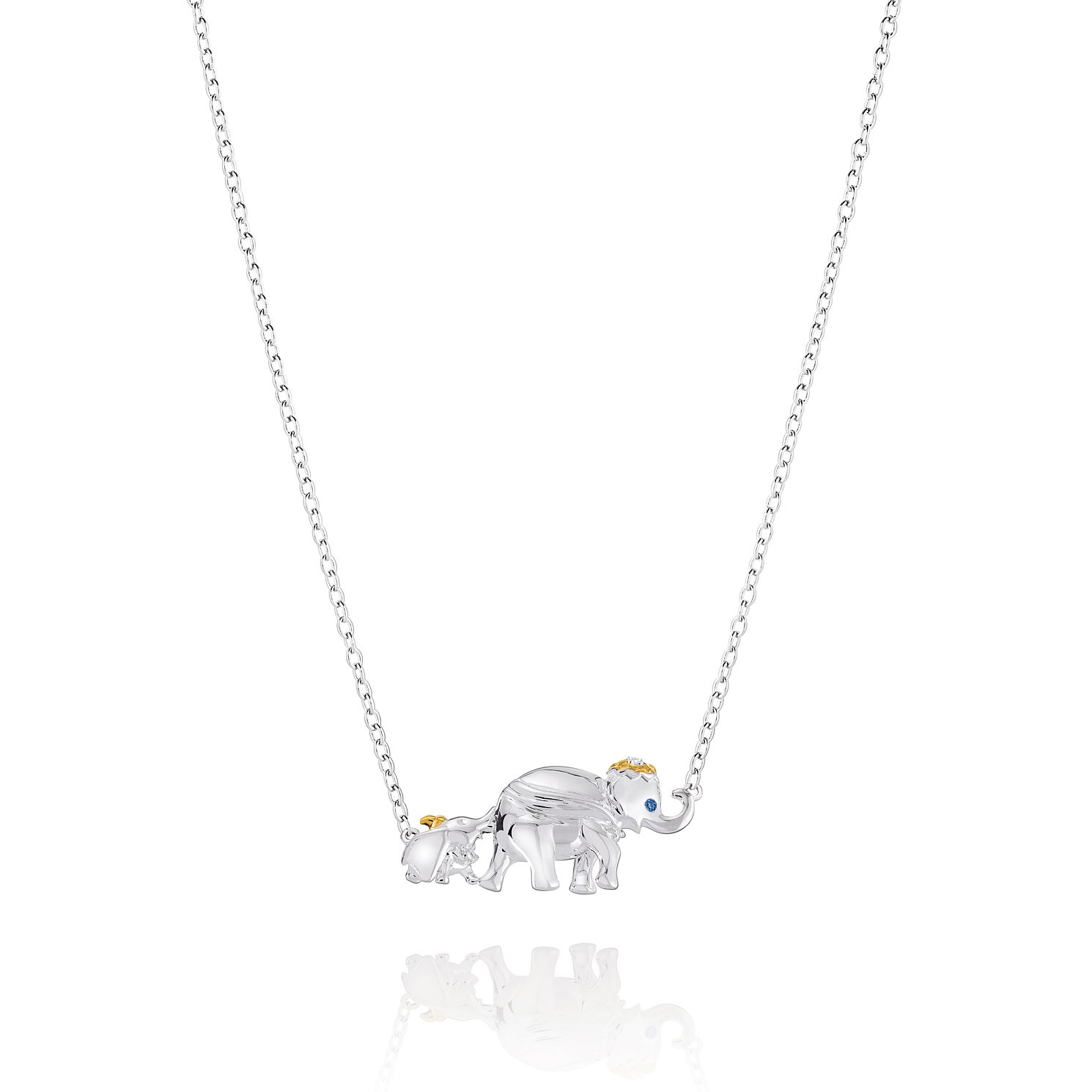 Chamilia Disney Mum & Dumbo Necklace with Swarovski Zirconia - Product number 2221934