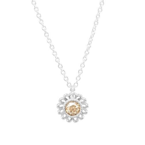 Chamilia Daisy Jacket Necklace with Gold Swarovski Crystal - Product number 2221977