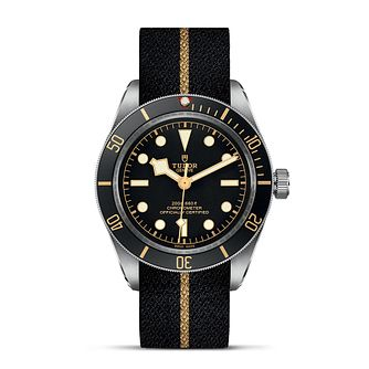 Tudor Black Bay 58 Men's Diver Black Fabric Strap Watch - Product number 2225026