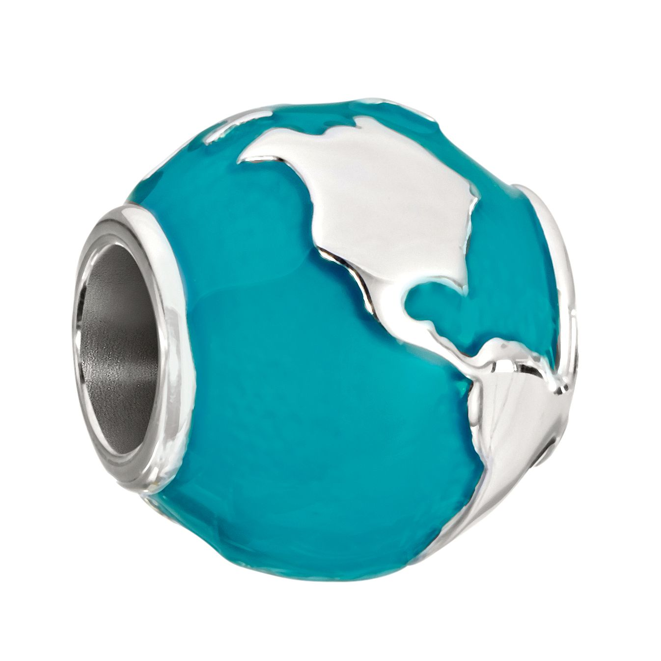 Chamilia Around The World Sterling Silver & Enamel Bead - Product number 2225700