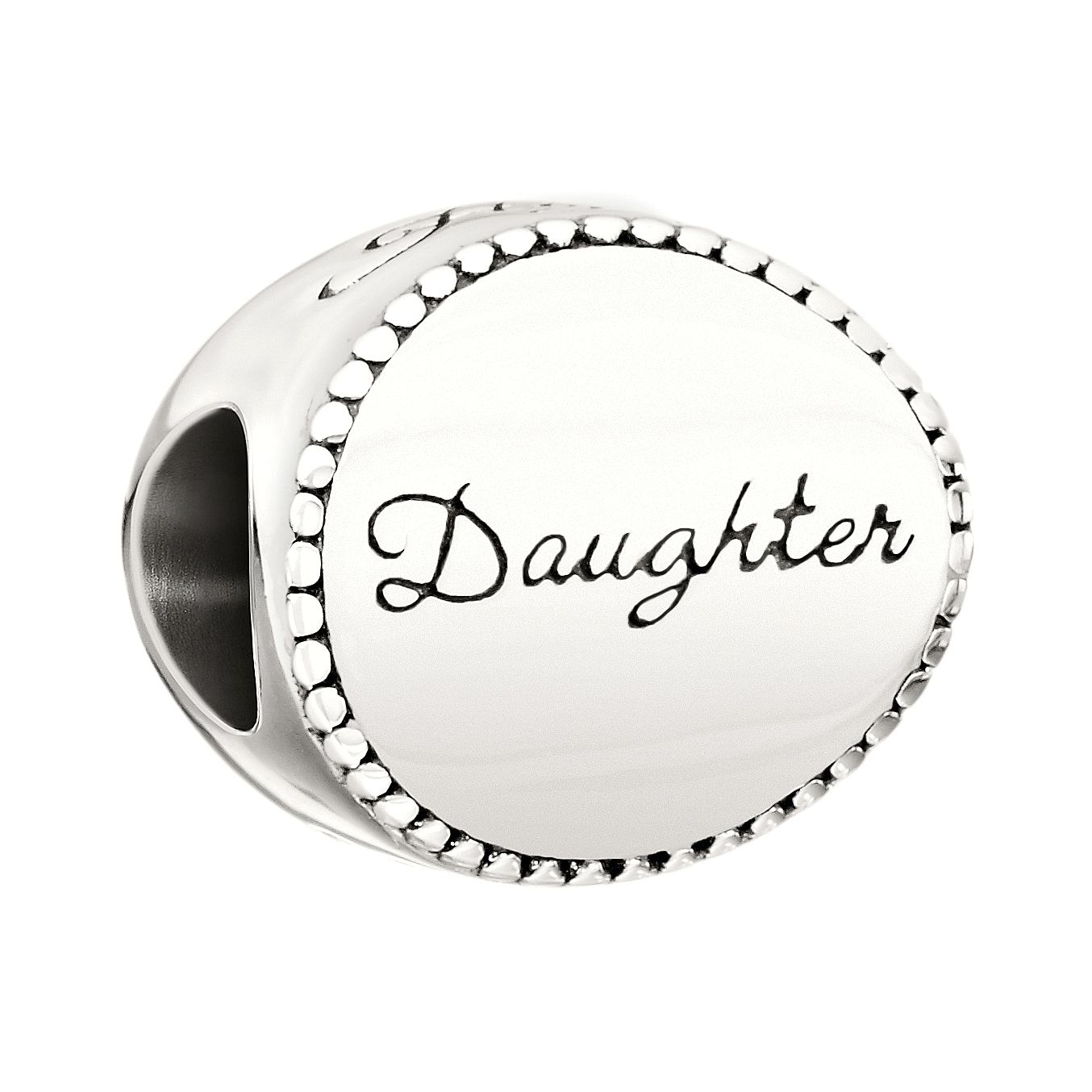 Chamilia Sterling Silver Daughter Bead - Product number 2226138