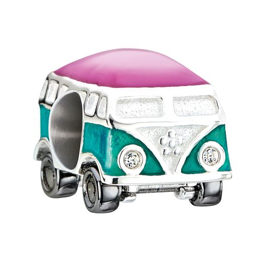 Chamilia Camper Van Charm with Enamel & Swarovski Crystal - Product number 2227169