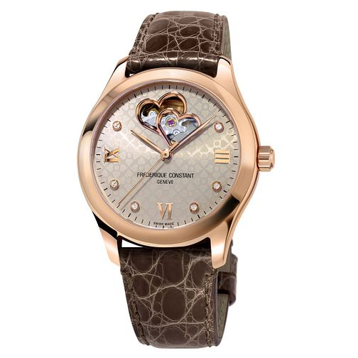 Frederique Constant Automatic Ladies' Leather Strap Watch - Product number 2228777