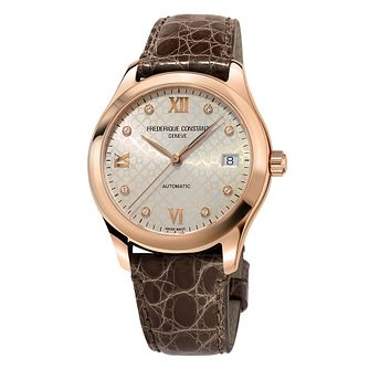 Frederique Constant Automatic Ladies' Leather Strap Watch - Product number 2228785