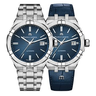 Maurice Lacroix Aikon Men's Bracelet & Strap Watch Set - Product number 2230194