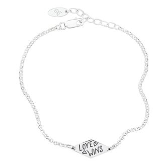 Chamilia Love Wins Sterling Silver ID Bracelet - Product number 2233606
