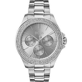 BOSS Ladies' Premiere Stainless Steel Bracelet Watch - Product number 2235781