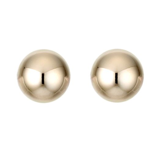 9ct Yellow Gold Ball Stud Earrings - Product number 2236761