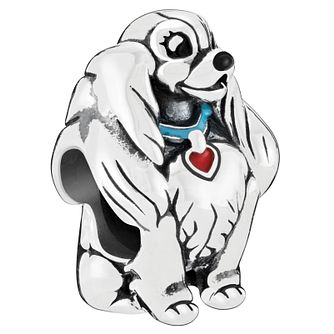 Chamilia Disney Lady and The Tramp Sterling Silver Charm - Product number 2236826