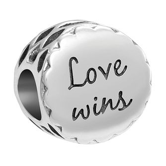 Chamilia Inspirations Love Wins Sterling Silver Charm - Product number 2236931