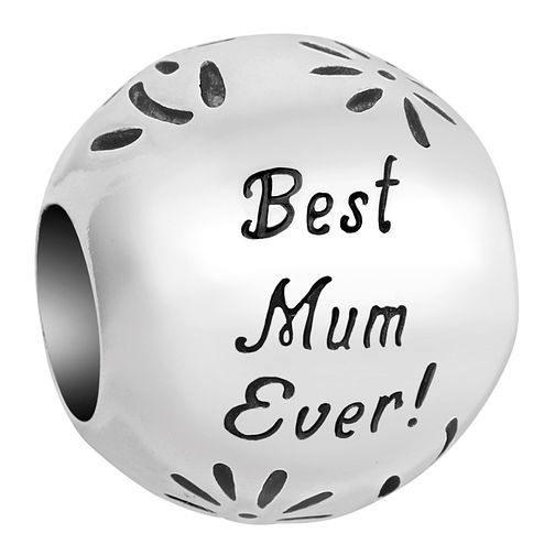 Chamilia Inspirations Best Mum Sterling Silver Charm - Product number 2237431
