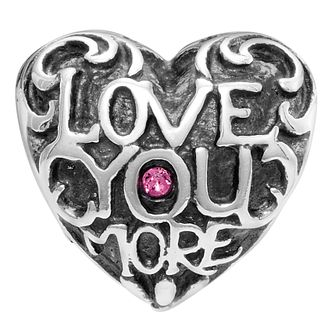 Chamilia Ardent Love Swarovski Crystal Heart Charm - Product number 2239612