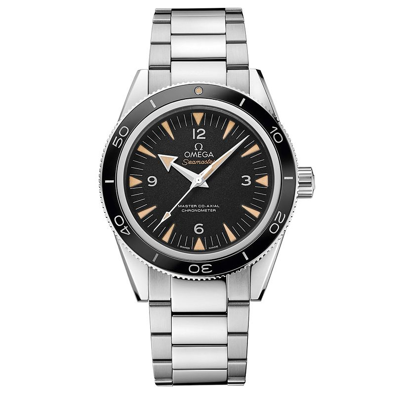 Omega Seamaster 300 Men's Stainless Steel Bracelet Watch - Product number 2243113