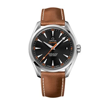 Omega Seamaster Aqua Terra men's strap watch - Product number 2243199
