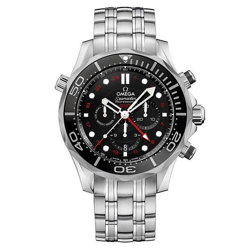 Omega Seamaster Diver stainless steel bracelet watch - Product number 2243229