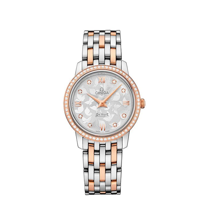 Omega De Ville Prestige Quartz Ladies' Bracelet Watch - Product number 2243725