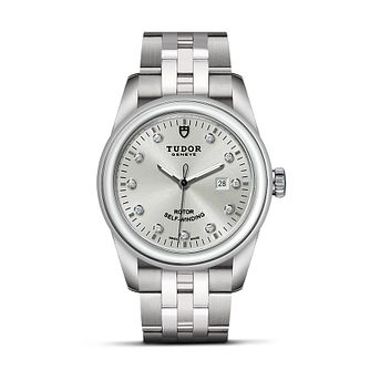 Tudor Glamour Date Ladies' Stainless Steel Bracelet Watch - Product number 2244942