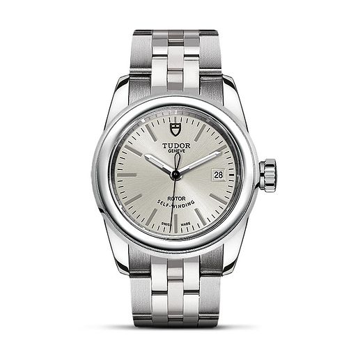 Tudor Glamour Date Ladies' Stainless Steel Bracelet Watch - Product number 2245043