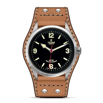 Tudor Heritage Ranger Men's Leather Strap Watch - Product number 2245140